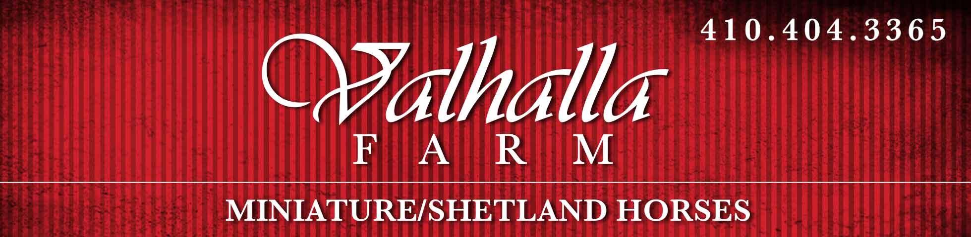 VALHALLA FARM, Minatures and Shetlands, Westminster, MD